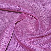 Шторы, портьеры, ткань портьерная для штор рогожка ярко-малиновая