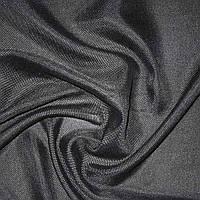 Шторы, портьеры, ткань портьерная для штор рогожка черная