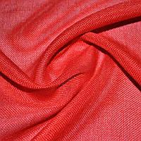 Шторы, портьеры, ткань портьерная для штор рогожка алая
