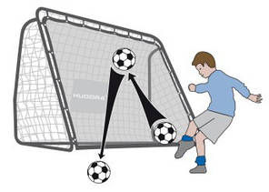 Ворота футбольные HUDORA, фото 2