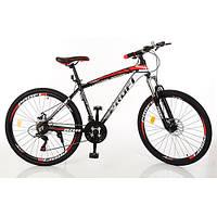 Велосипед спортивный 26 дюймов алюминиевая рама