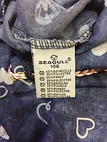 Сарафаны под джинс для девочек оптом, Seagull, 134-164 рр., арт. CSQ-88041, фото 3