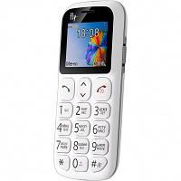 Телефон Fly Ezzy 7 White (Бабушкофон) *2