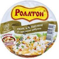 Ролтон Пюре картопл.зі смаженою цибулею пакет 37г