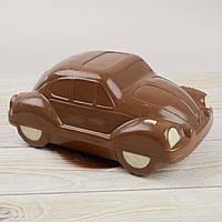 """Шоколадная фигура """"Машина ЖУК"""", КЛАССИЧЕСКОЕ сырье. Размер: 145х260х100мм, вес 970г, фото 1"""