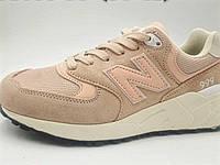 Женские кроссовки в стиле New Balance 999 пудра 36р 23см