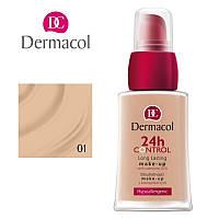 DC Make-up 24H Control 01 Тональный крем высокой степени стойкости Q10, 30 мл