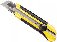 "Нож с отламывающимся широким лезвием 25мм Stanley ""Dynagrip"" 180 мм"
