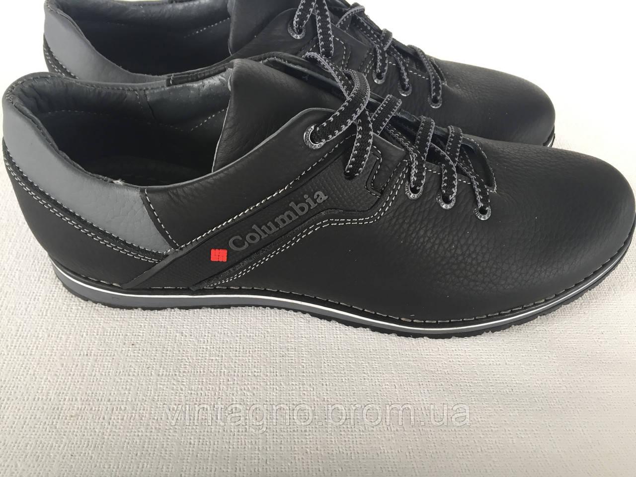 Мужские повседневные кожаные туфли 20 черные - Интернет-магазин ОБУВИ  ОПТ  и РОЗНИЦА в f07f9c8558c94