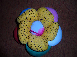Подушка цветок ручная работа