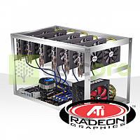 Майнинг ферма на 6 GPU RX 470 8GB