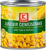 Кукурудза K-Classic Junger Gemüsemais 425ml
