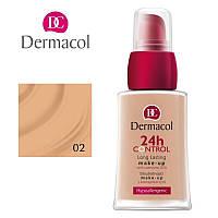 DC Make-up 24H Control 02 Тональный крем высокой степени стойкости Q10, 30 мл