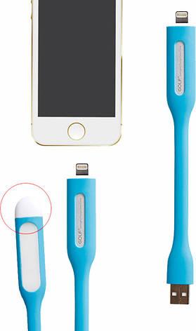 Кабель GOLF LED Light-8 pin cable 0,17m Blue, фото 2