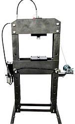 Пресс пневматический, гидравлический с рукояткой 50T
