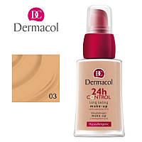 DC Make-up 24H Control 03 Тональный крем высокой степени стойкости Q10, 30 мл