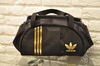 Спортивная сумка Adidas модель M-530.(черный+золото)