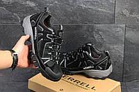 Мужские кроссовки Merrell черные в фирменных коробках