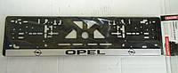 Рамка номерного знака Opel (подномерник) 1шт
