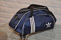 Спортивная сумка Adidas модель M-530. (Синий+белый)
