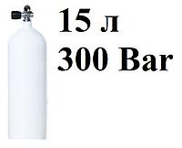 Стальной баллон для дайвинга 15 литров Vitkovice 300 Bar (без башмака!)