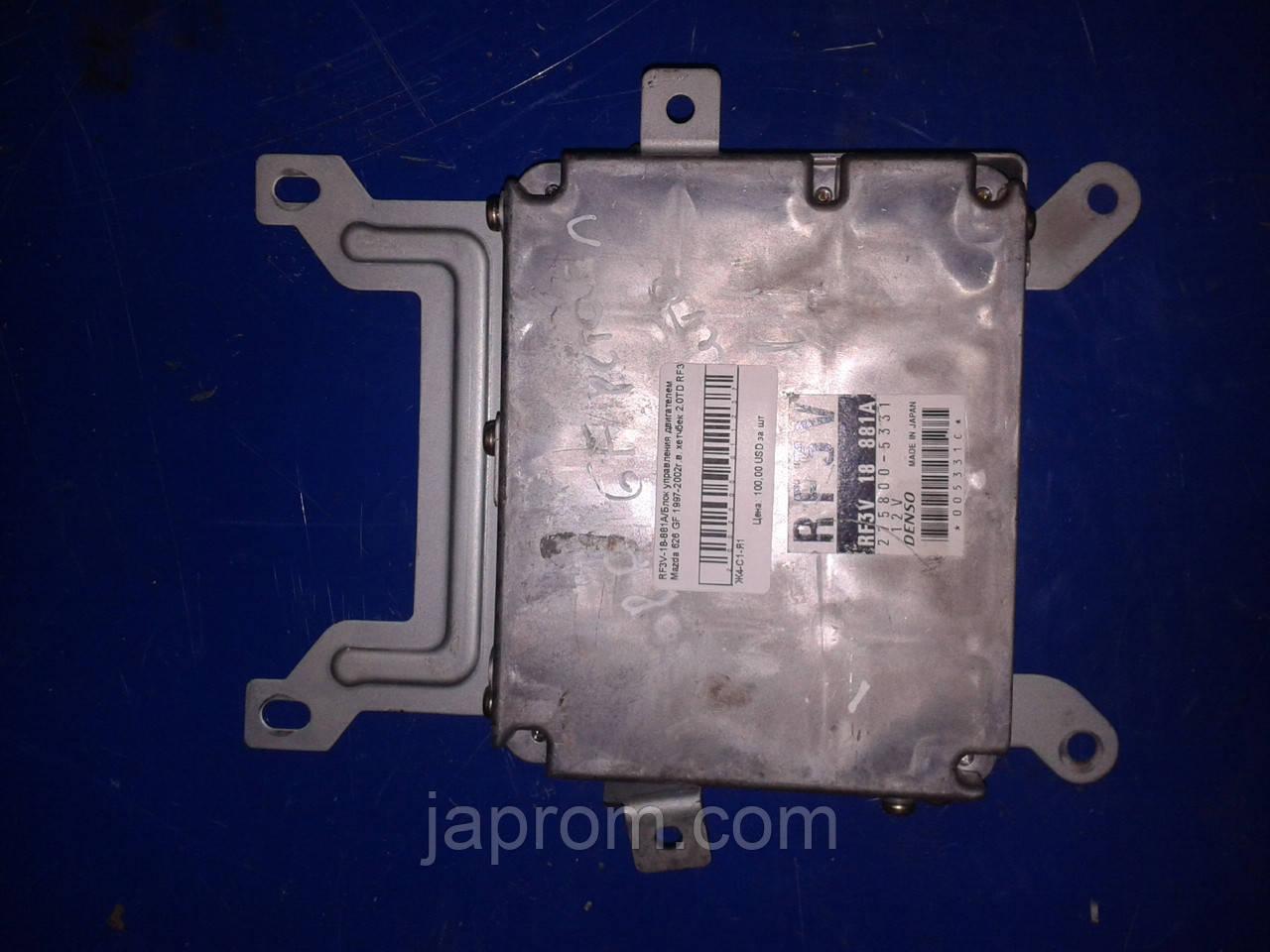 Блок управления двигателем Mazda 626 GF 1997-2002г.в. хетчбек 2.0TD RF3V комплект