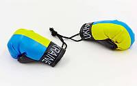Брелок Перчатки боксерские Украина в машину FB-5028
