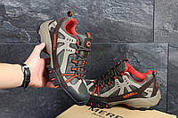 Мужские кроссовки Merrell оливковые в фирменных коробках (Реплика ААА+)
