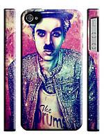 Чехол  Swag для iPhone 4/4s Чарли Чаплин