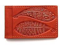 Визитница карманная кожаная Guk (14-11)