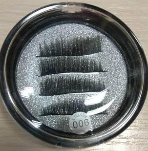 Магнитные ресницы квадратные EYE lashes RECTANGLE ONE(006) 4шт, фото 2