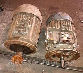 Электродвигатель електродвигун 4АМ 160 S2 15 кВт 3000 об/мин, фланец