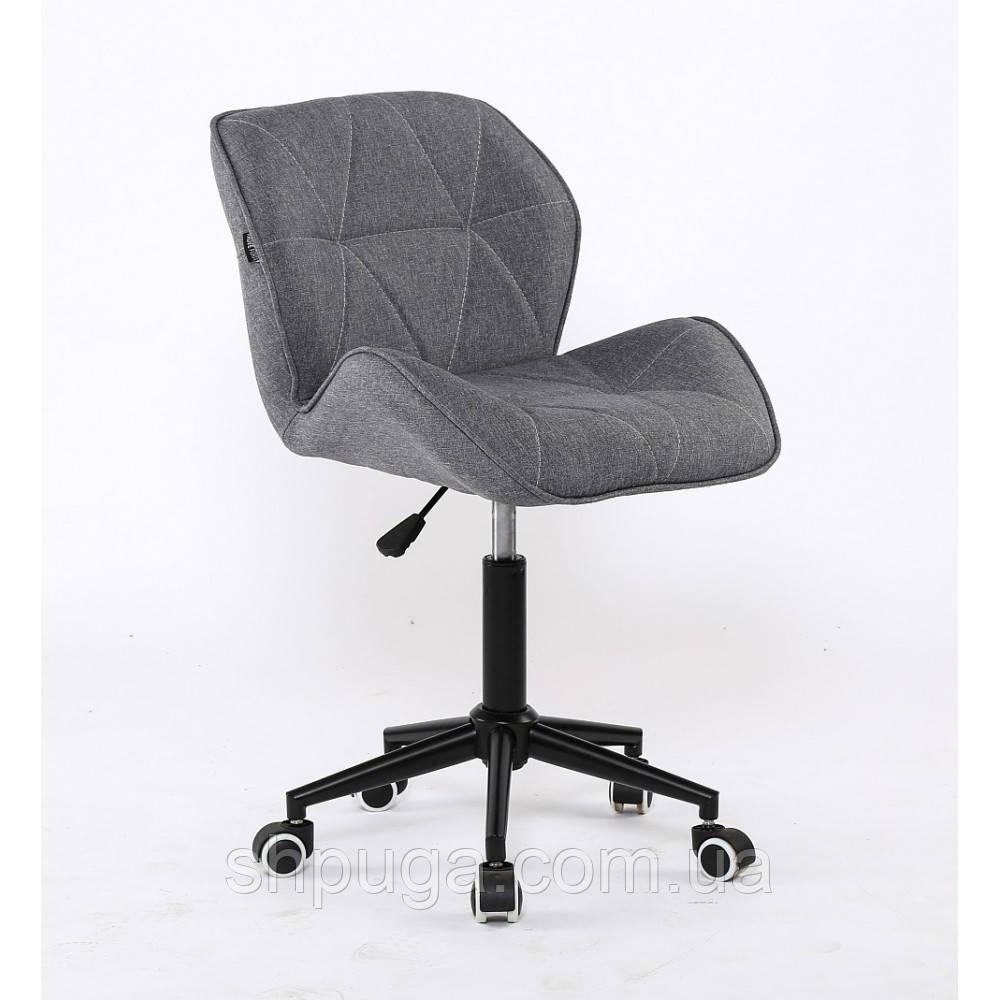 Косметическое кресло НС111 серое ткань