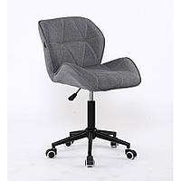 Косметическое кресло НС111 серое ткань, фото 1