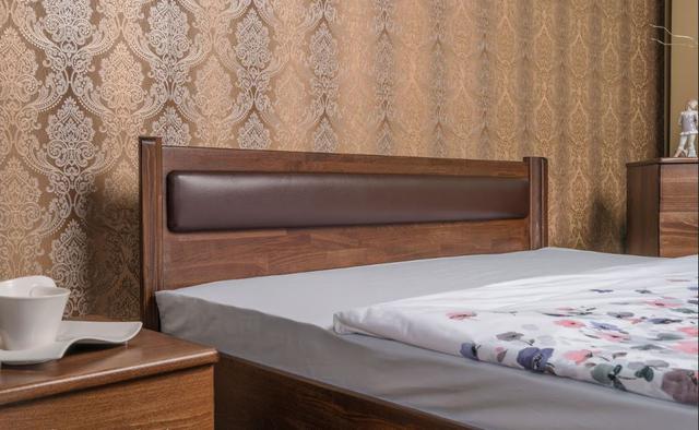 Кровать Марго изголовье мягкое (венге)