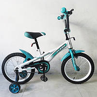 Велосипед TILLY FLASH 16 T-21646 Turquoise, бирюзовый