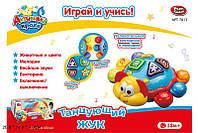 """7013 RUS Логика PLAY SMART """"Танцующий жук"""" батар.муз.свет"""