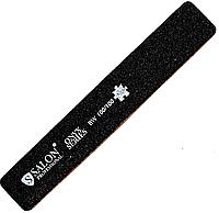 Пилка Salon Professional 100/100, широкая, черная