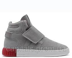 """Женские кроссовки Adidas Tubular Invader Strap """"Grey"""""""