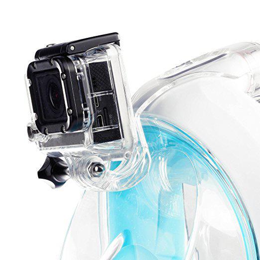 Кріплення GoPro на маску