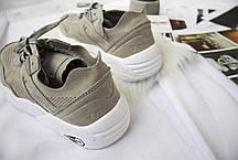 Женские кроссовки Puma R698 Soft Pack Grey, Пума Р698, фото 3