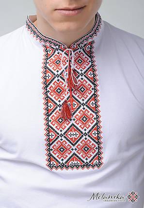 Мужская футболка с коротким рукавом с классической вышивкой «Атаманская», фото 2