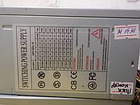 Блок питания SWITCHING POWER SUPPLY 300W 80 Fan  писк
