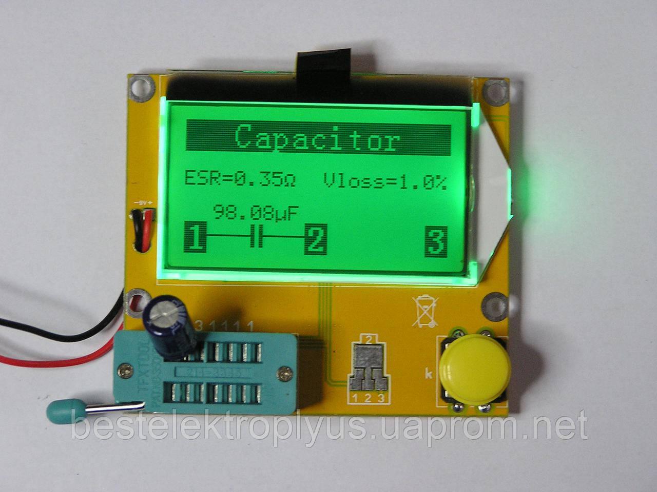 Тестер LCR, RLC, ESR-метр, тестер диодов, транзисторов