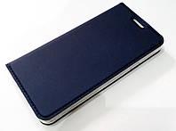 Чехол книжка KiwiS для Samsung Galaxy A3 a310 (2016) синий