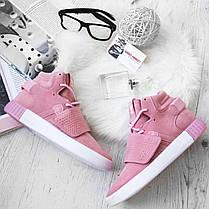 Женские кроссовки Adidas Tubular Invader Pink B39364, Адидас Тубулар, фото 3