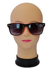Солнцезащитные очки унисекс Wayfarer матовые, фото 2
