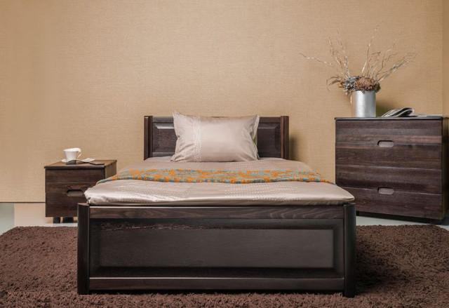 Кровать полуторная Марго с изножьем, с ящиками, изголовье филенка (фото 2)