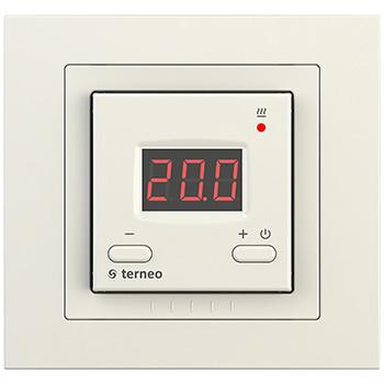 Терморегулятор для нагревательных панелей terneo vt unic