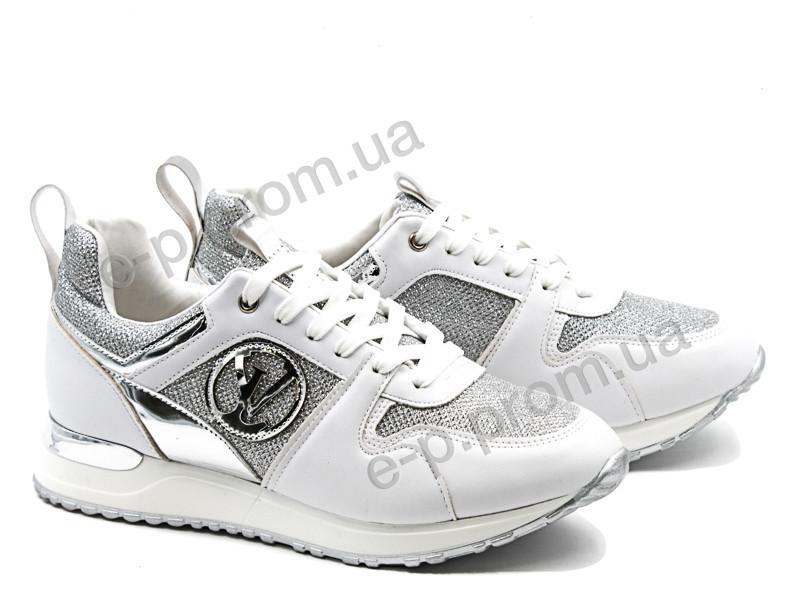 70701118223a Кроссовки женские Violeta (20-558 white)   8 пар (Код 139810 ...